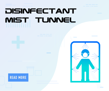 Disinfectant Walk Through Tunnel