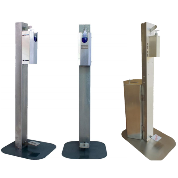 Foot Stand Disinfectant Unit