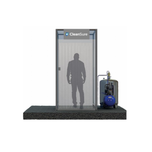 walkthrough Disinfectant Mist Tunnel