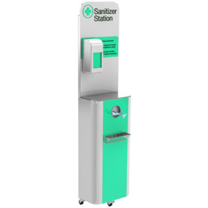 Sanitizer unit station